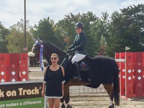 Dealbreaker and Amanda Hood HITS Circuit Champs