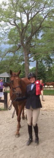 Rachel Hammes and Redrock at the Loudoun Benefit